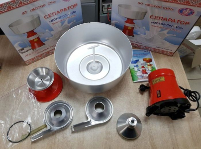 Сепаратор для молока в домашніх умовах