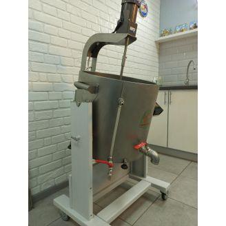 Домашняя автоматическая сыроварня Перваченко 65 л со сливным краном (4,5 кВт, 380 В)